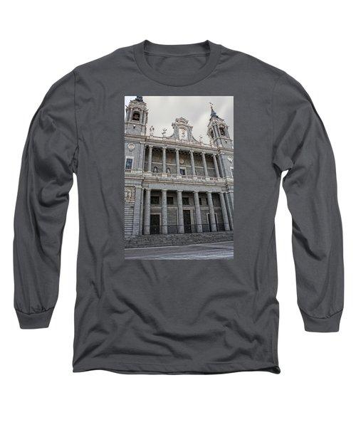Catedral De La Almudena 2 Long Sleeve T-Shirt by Angel Jesus De la Fuente