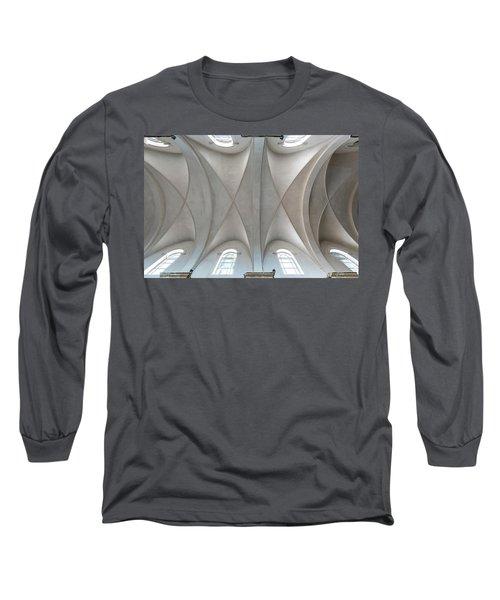 Catedral De La Purisima Concepcion Ceiling Long Sleeve T-Shirt