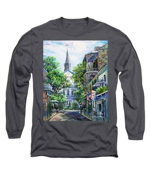 Cathedral At Orleans Long Sleeve T-Shirt