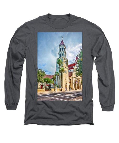 Cathedral Basilica Long Sleeve T-Shirt