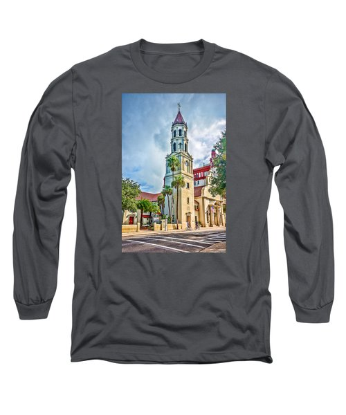 Long Sleeve T-Shirt featuring the photograph Cathedral Basilica by Anthony Baatz