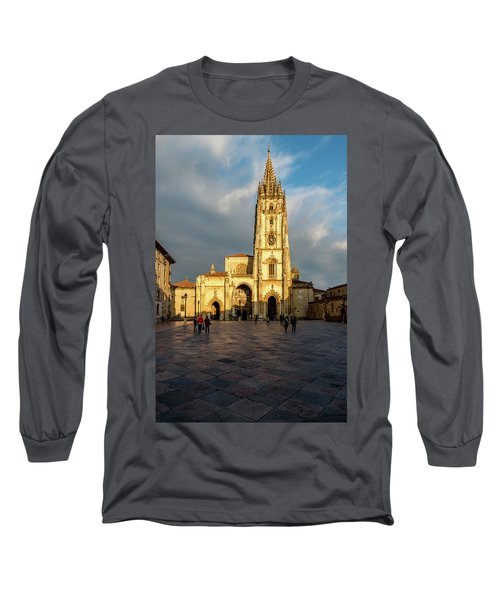 Cathedral Of Oviedo Long Sleeve T-Shirt