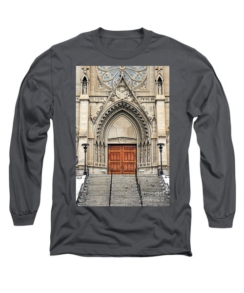 Cathedral Of St Helena Long Sleeve T-Shirt