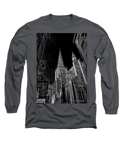 Long Sleeve T-Shirt featuring the photograph Cathedrale St/. Vincent by Elf Evans