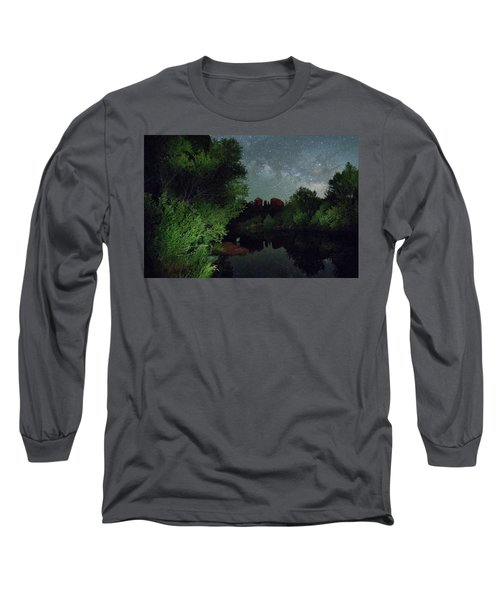 Cathedrals' Skies Long Sleeve T-Shirt
