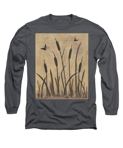 Cattails 2 Long Sleeve T-Shirt