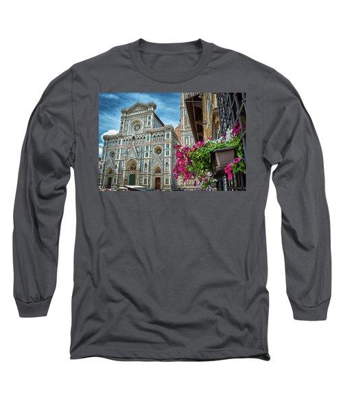 Cattedrale Di Santa Maria Del Fiore Long Sleeve T-Shirt