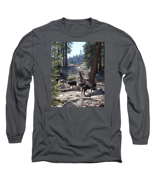 Cattle Climbing Long Sleeve T-Shirt