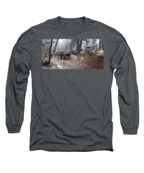 Cattle Moving Long Sleeve T-Shirt