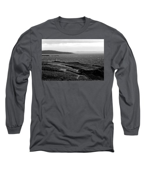 Cattle Point Lighthouse Long Sleeve T-Shirt