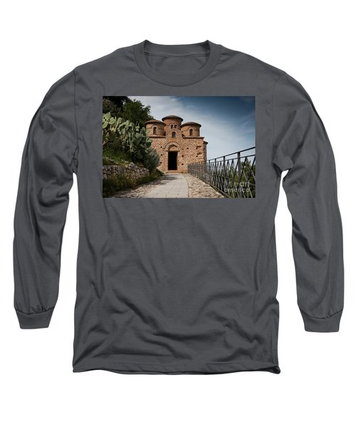 Long Sleeve T-Shirt featuring the photograph Cattolica Di Stilo by Bruno Spagnolo