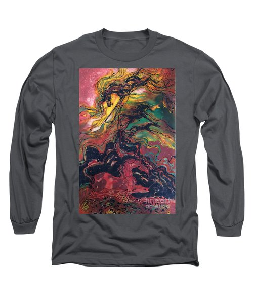 Caught In The Thunderstorm Long Sleeve T-Shirt