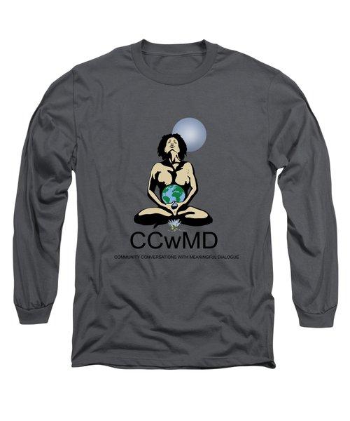 Ccwmd Logo Tshirt Ready Long Sleeve T-Shirt