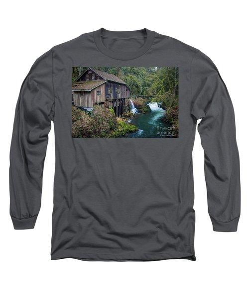 Cedar Grist Mill Long Sleeve T-Shirt