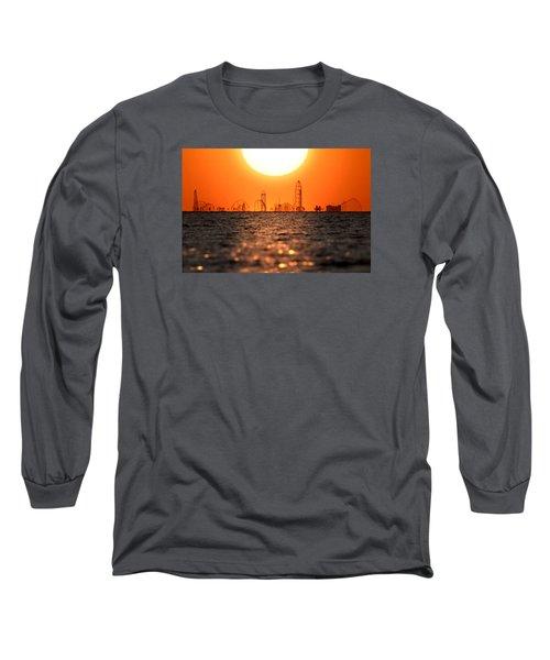 Cedar Point Skyline 2 Long Sleeve T-Shirt