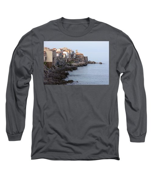 Cefalu, Sicily Italy Long Sleeve T-Shirt