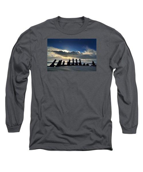 Cefn Sidan Beach 5 Long Sleeve T-Shirt