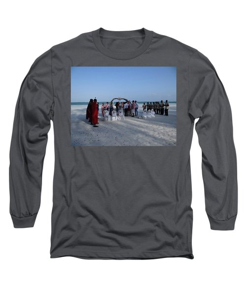 Celebrate Marriage On The Beach Long Sleeve T-Shirt