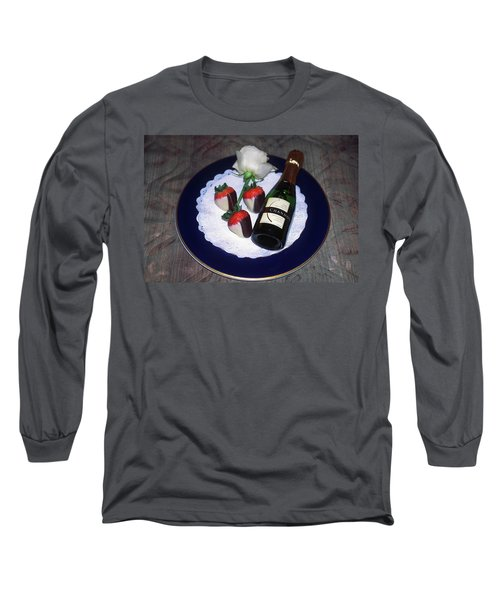 Long Sleeve T-Shirt featuring the photograph Celebration Plate by Sally Weigand