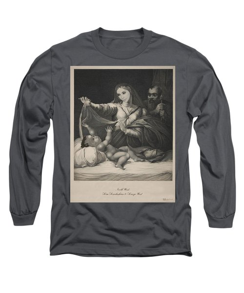 Celebrity Etchings - North Kim And Kanye Long Sleeve T-Shirt
