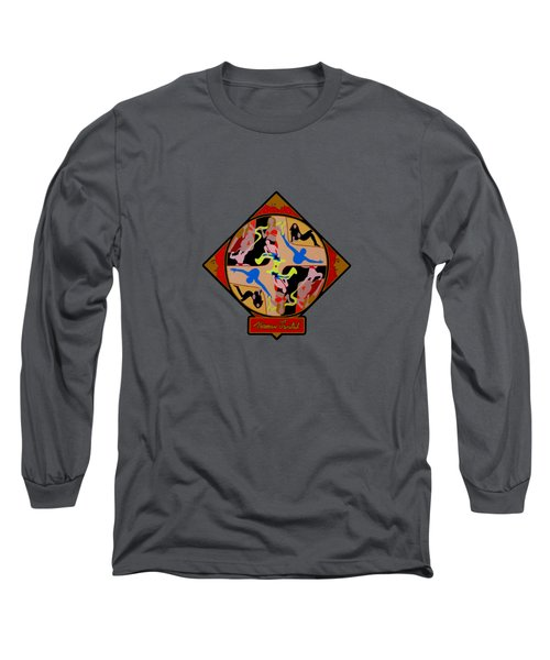 Celebrity Shapes Long Sleeve T-Shirt by Norman Twisted