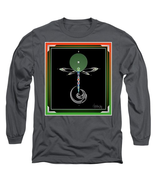 Celtic Dragonfly Long Sleeve T-Shirt