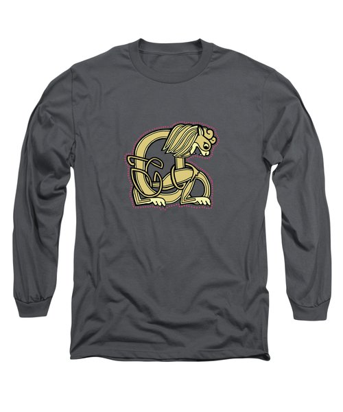 Celtic Lion A Long Sleeve T-Shirt