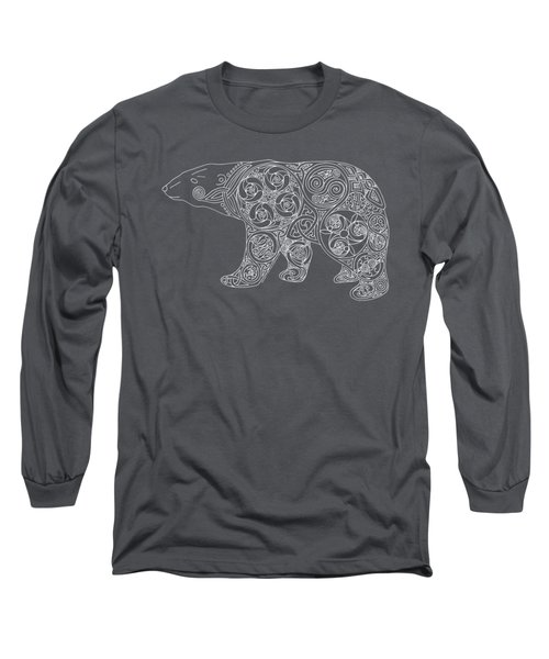 Celtic Polar Bear Long Sleeve T-Shirt