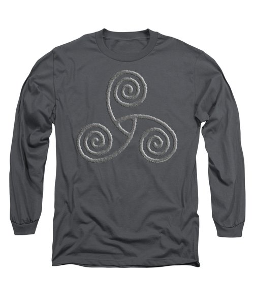 Celtic Triple Spiral Long Sleeve T-Shirt