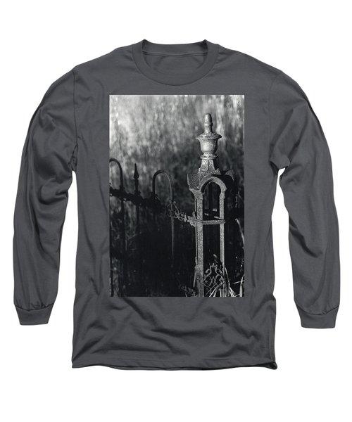 Cemetery  Fence Long Sleeve T-Shirt