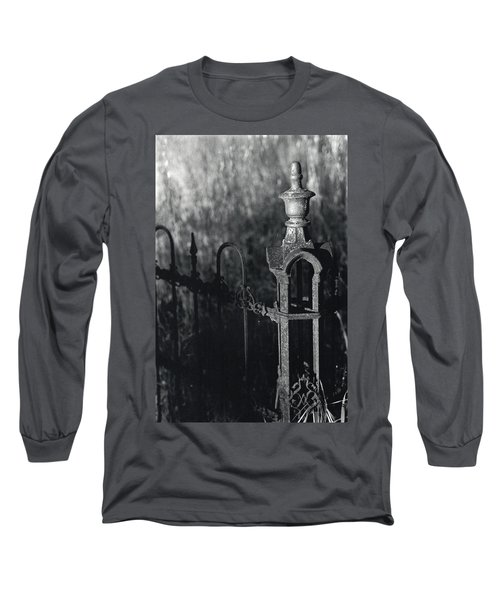 Cemetery  Fence Long Sleeve T-Shirt