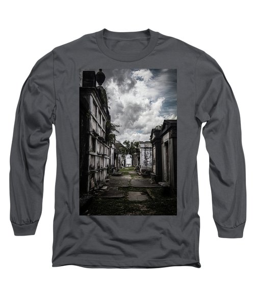 Cemetery Row Long Sleeve T-Shirt