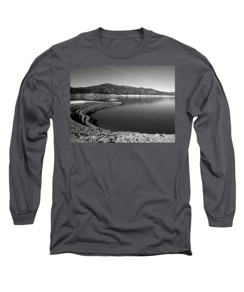 Long Sleeve T-Shirt featuring the photograph Centimudi In Black And White by Joyce Dickens