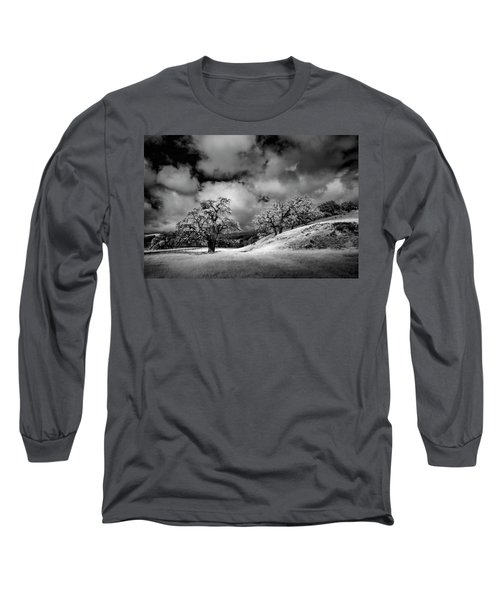 Central California Ranch Long Sleeve T-Shirt by Sean Foster