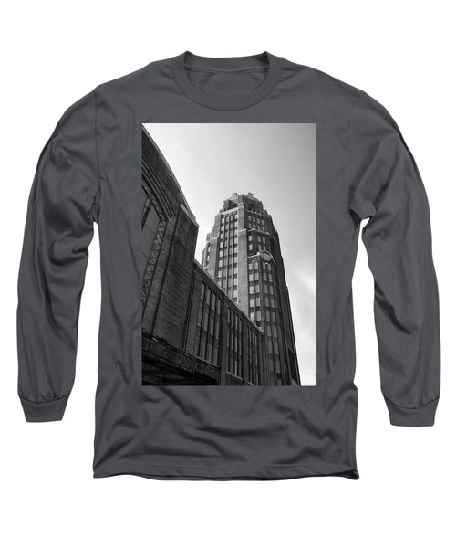 Long Sleeve T-Shirt featuring the photograph Central Terminal 15142 by Guy Whiteley