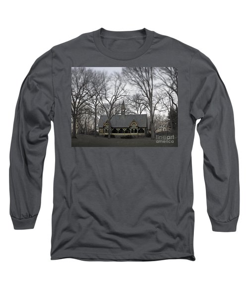 Centrally Located Long Sleeve T-Shirt