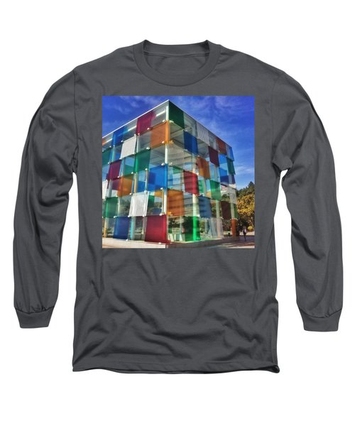 Centre #pompidou #malaga #museo #museum Long Sleeve T-Shirt