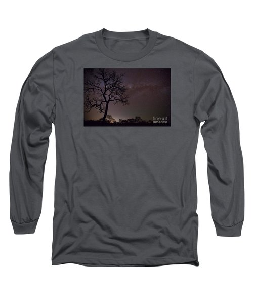 Long Sleeve T-Shirt featuring the photograph Cerrado By Night by Gabor Pozsgai