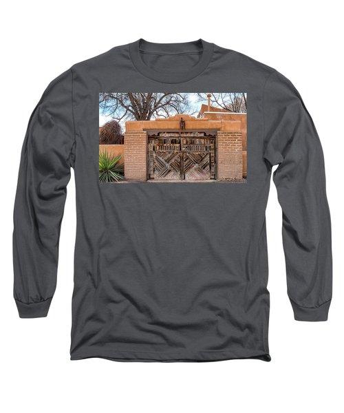 Cerrillos Gate Long Sleeve T-Shirt by Robert FERD Frank