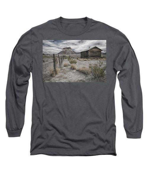 Cerro Castellan - Big Bend  Long Sleeve T-Shirt by Kathy Adams Clark
