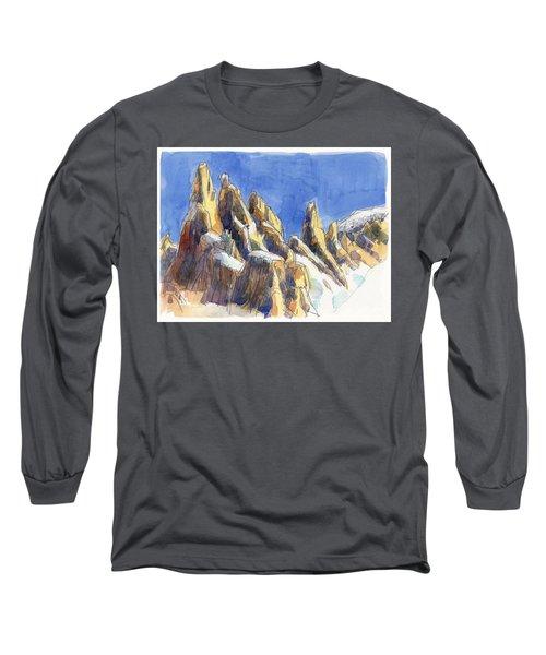 Cerro Torre, Patagonia Long Sleeve T-Shirt