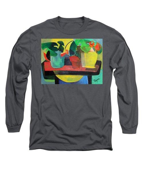 Cezanne Potting Stand Long Sleeve T-Shirt
