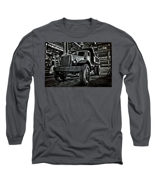 Chain Drive Sterling Long Sleeve T-Shirt