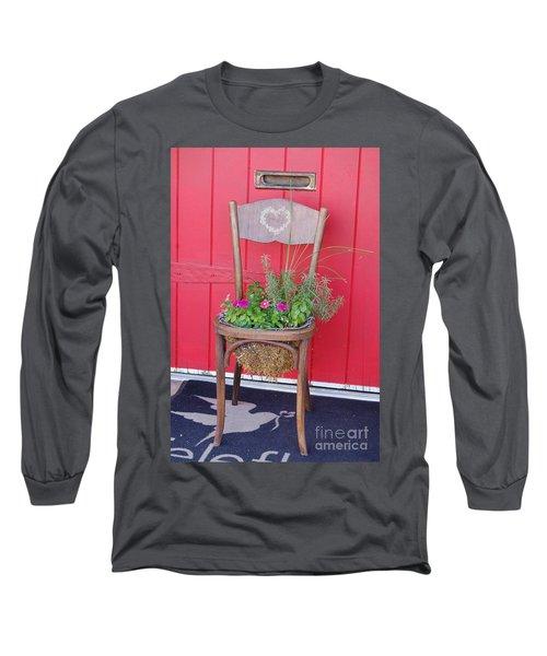 Chair Planter Long Sleeve T-Shirt