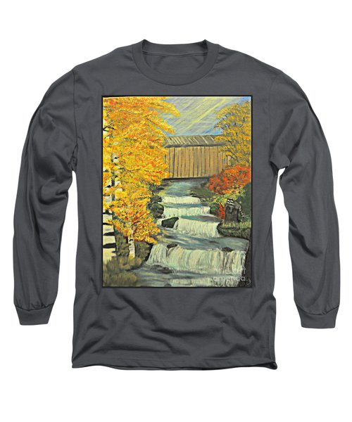 Chambers Covered Bridge  Long Sleeve T-Shirt