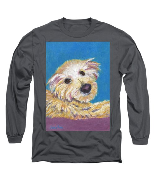 Long Sleeve T-Shirt featuring the painting Chance by Jamie Frier