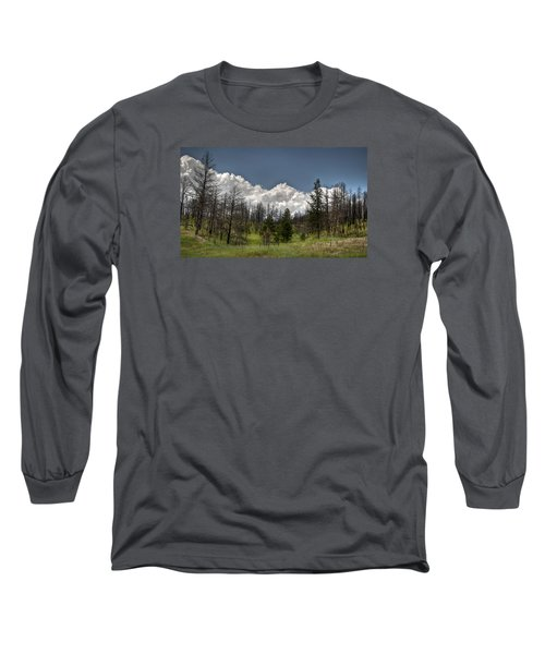 Chance Of Clouds Long Sleeve T-Shirt by Deborah Klubertanz