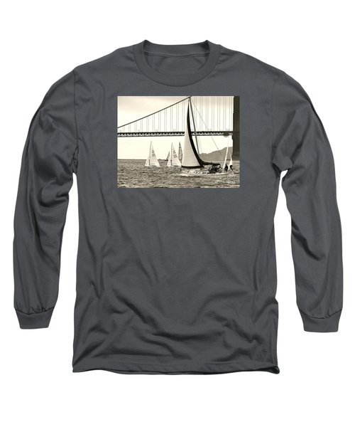 Changes In Attitude Long Sleeve T-Shirt by Scott Cameron