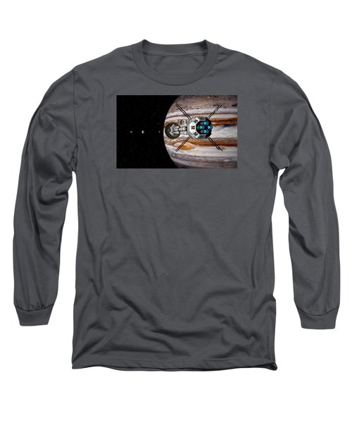 Long Sleeve T-Shirt featuring the digital art Changing Course by David Robinson