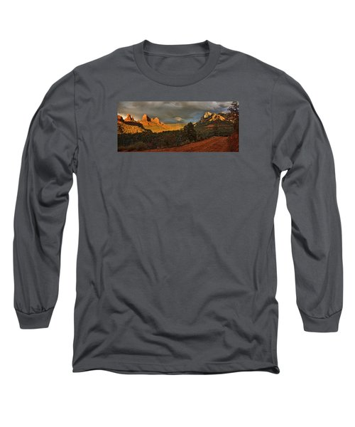 Changing Hues At Sunset Long Sleeve T-Shirt